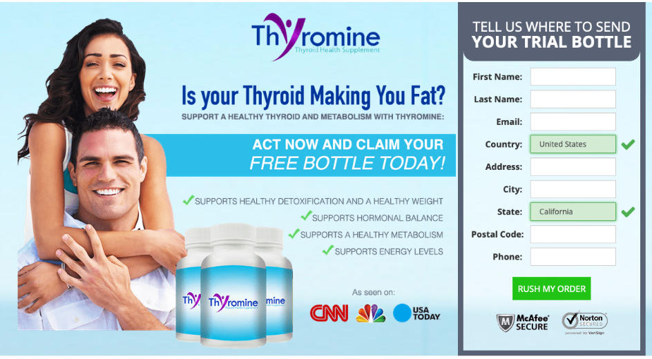 thyromine website